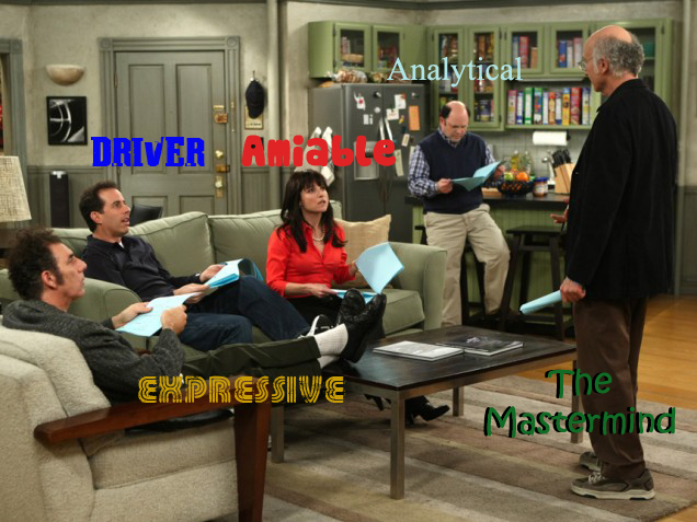 seinfeld personalities Personality Types for Business.  Which one are you?