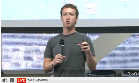 the-social-network Recording & Outlined Notes of Facebook's Live Event  –  10/6/10